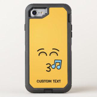 Capa Para iPhone 8/7 OtterBox Defender Cara de assobio com olhos de sorriso