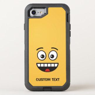 Capa Para iPhone 8/7 OtterBox Defender Cara de sorriso com boca aberta