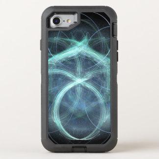 Capa Para iPhone 8/7 OtterBox Defender Carga elétrica azul de roda