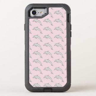 Capa Para iPhone 8/7 OtterBox Defender Caso do telemóvel de Otterbox do golfinho