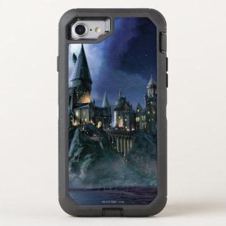 Capa Para iPhone 8/7 OtterBox Defender Castelo   Hogwarts enluarada de Harry Potter