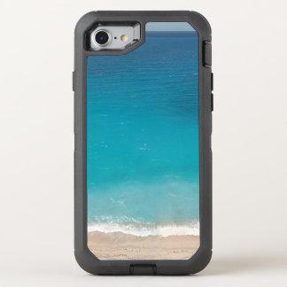 Capa Para iPhone 8/7 OtterBox Defender Cena azul bonita da praia
