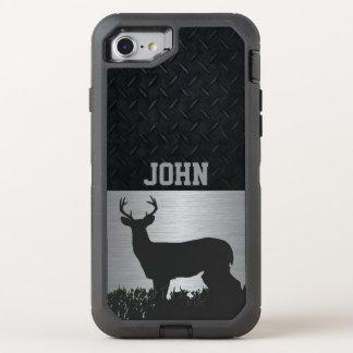 Capa Para iPhone 8/7 OtterBox Defender Cervos Antlered no exemplo conhecido feito sob
