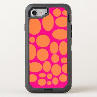 Capa Para iPhone 8/7 OtterBox Defender Cobrir cor-de-rosa e alaranjado da capa de