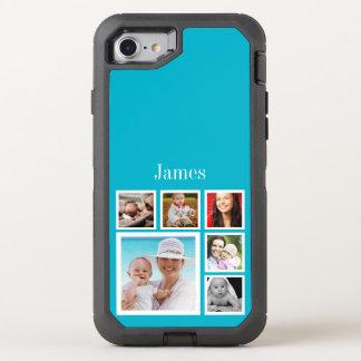 Capa Para iPhone 8/7 OtterBox Defender Colagem da foto