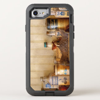 Capa Para iPhone 8/7 OtterBox Defender Cozinha - ingredientes - garrafas da cozinha