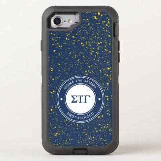 Capa Para iPhone 8/7 OtterBox Defender Crachá da gama | da tau do Sigma