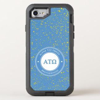 Capa Para iPhone 8/7 OtterBox Defender Crachá da tau Omega | do alfa
