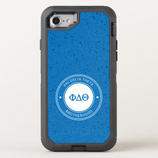 Capa Para iPhone 8/7 OtterBox Defender Crachá da teta | do delta da phi