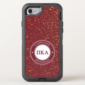 Capa Para iPhone 8/7 OtterBox Defender Crachá do alfa | do Kappa do Pi