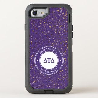 Capa Para iPhone 8/7 OtterBox Defender Crachá do delta | da tau do delta