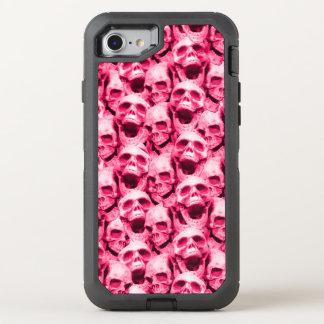 Capa Para iPhone 8/7 OtterBox Defender Crânios do rosa quente