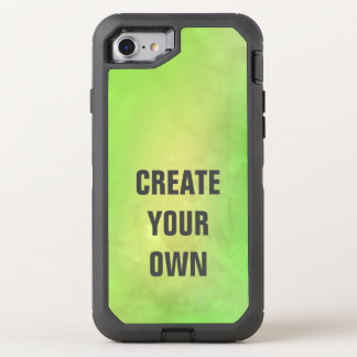 Capa Para iPhone 8/7 OtterBox Defender Criar sua própria pintura verde moderna da
