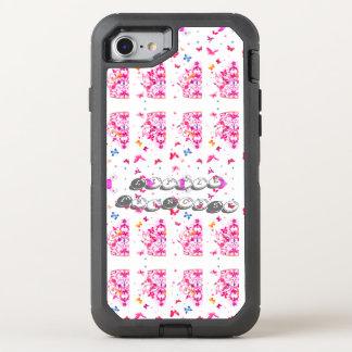 Capa Para iPhone 8/7 OtterBox Defender Criar sua própria princesa bonito bonito colorida