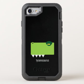 Capa Para iPhone 8/7 OtterBox Defender Defensor de Otterbox do tiranossauro para o iPhone