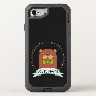 Capa Para iPhone 8/7 OtterBox Defender Desenhos animados bonitos da lontra