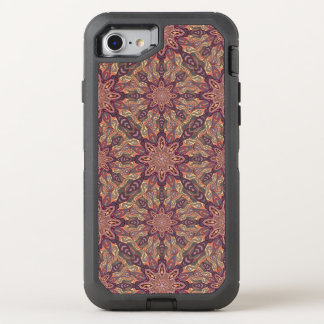 Capa Para iPhone 8/7 OtterBox Defender Design floral do teste padrão do abstrato da