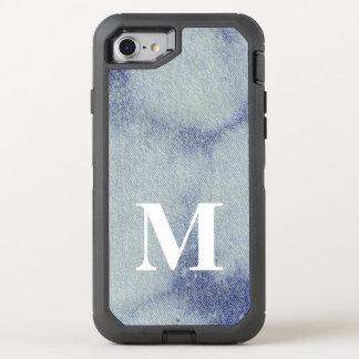Capa Para iPhone 8/7 OtterBox Defender Design lavado #1 @ Emporio Moffa da sarja de Nimes