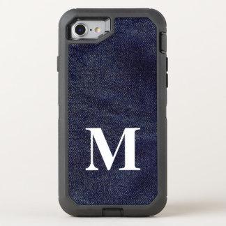 Capa Para iPhone 8/7 OtterBox Defender Design lavado #7 @ Emporio Moffa da sarja de Nimes