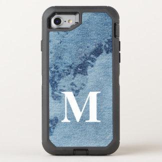 Capa Para iPhone 8/7 OtterBox Defender Design lavado #9 @ Emporio Moffa da sarja de Nimes