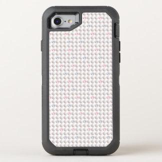 Capa Para iPhone 8/7 OtterBox Defender Diamante cor-de-rosa da pérola