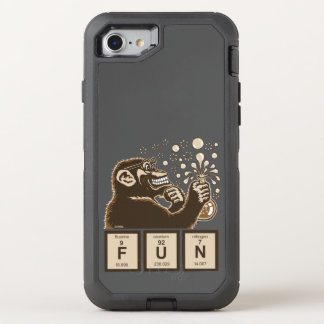 Capa Para iPhone 8/7 OtterBox Defender Divertimento descoberto macaco da química