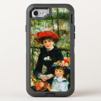 Capa Para iPhone 8/7 OtterBox Defender Duas irmãs no terraço