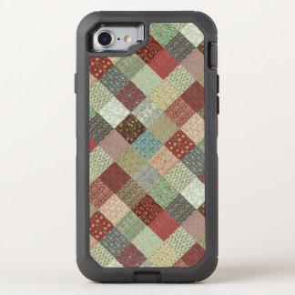Capa Para iPhone 8/7 OtterBox Defender Edredão de retalhos de William Morris