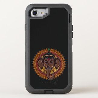 Capa Para iPhone 8/7 OtterBox Defender Elefante adorável Metallizer da mandala