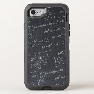 Capa Para iPhone 8/7 OtterBox Defender Equações da matemática em Geeky engraçado do