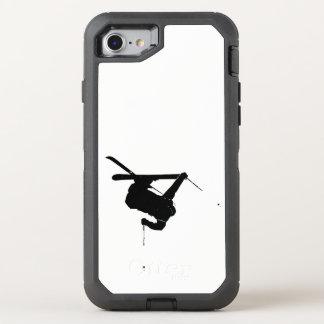 Capa Para iPhone 8/7 OtterBox Defender Esquiador preto & branco