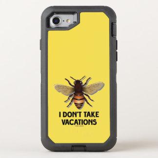 Capa Para iPhone 8/7 OtterBox Defender Eu não tomo o humor da apicultura da abelha do mel