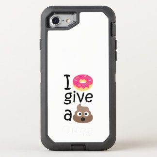 Capa Para iPhone 8/7 OtterBox Defender Eu rosquinha dou um emoji do tombadilho