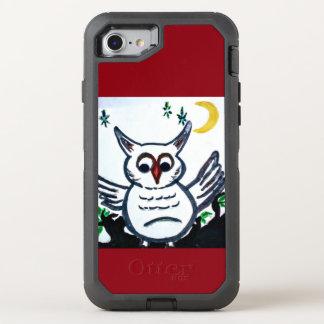 Capa Para iPhone 8/7 OtterBox Defender Exemplo da coruja da caixa da lontra