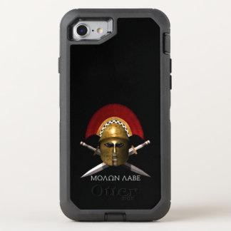 Capa Para iPhone 8/7 OtterBox Defender Exemplo do defensor de Molon Labe