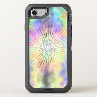 Capa Para iPhone 8/7 OtterBox Defender Explosão da estrela do halo do arco-íris