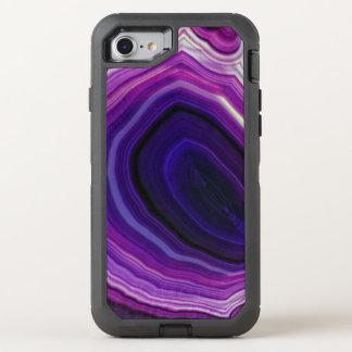 Capa Para iPhone 8/7 OtterBox Defender Falln rodou Geode roxo
