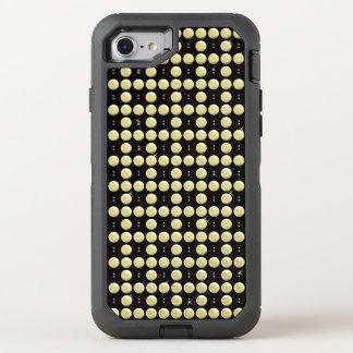 Capa Para iPhone 8/7 OtterBox Defender Festões frisadas do ouro de cristal