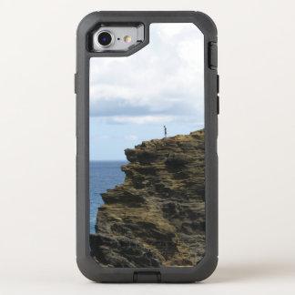 Capa Para iPhone 8/7 OtterBox Defender Figura solitário em um penhasco