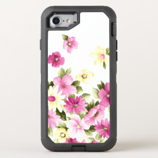 Capa Para iPhone 8/7 OtterBox Defender Flores de florescência femininos coloridas