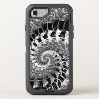 Capa Para iPhone 8/7 OtterBox Defender Fractal preto bonito