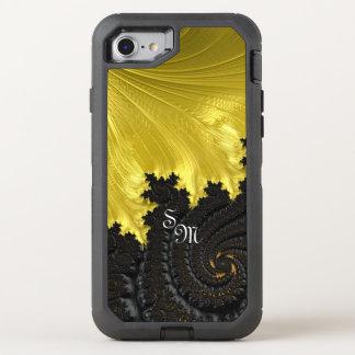 Capa Para iPhone 8/7 OtterBox Defender Fractals do rico & do divertimento com padrões