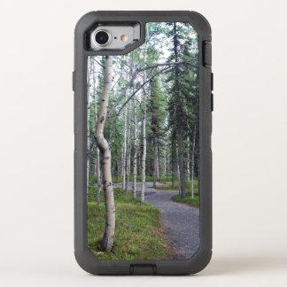 Capa Para iPhone 8/7 OtterBox Defender Fuga de natureza alinhada árvore Alaska