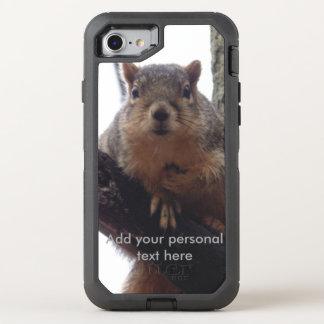 Capa Para iPhone 8/7 OtterBox Defender Furo do esquilo da série do defensor de Otterbox