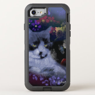 Capa Para iPhone 8/7 OtterBox Defender Gato de Toby