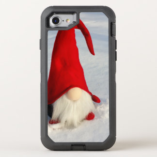 Capa Para iPhone 8/7 OtterBox Defender Gnomo escandinavo do Natal
