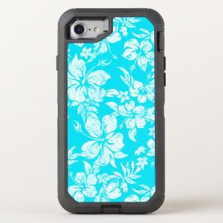 Capa Para iPhone 8/7 OtterBox Defender Hawaiian afligido Pareau do hibiscus