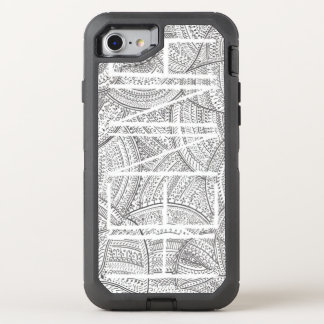 Capa Para iPhone 8/7 OtterBox Defender Henna do iPhone 6