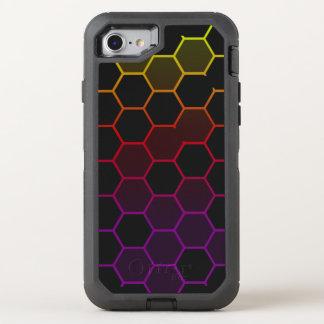 Capa Para iPhone 8/7 OtterBox Defender Hex da cor com cinza