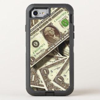 Capa Para iPhone 8/7 OtterBox Defender Impressão da nota de dólar eu telefono ao caso de